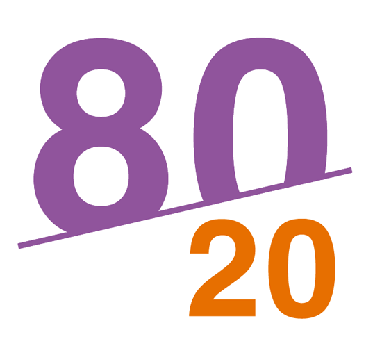 The 80/20 rule in project & resource planning